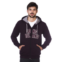 Moletom Long Island Plus Size Roxo