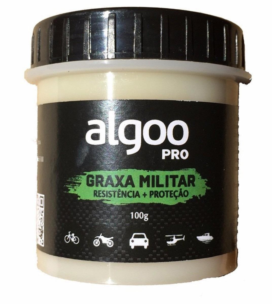 Graxa Algoo Pro Militar sintética para suspens&ati...