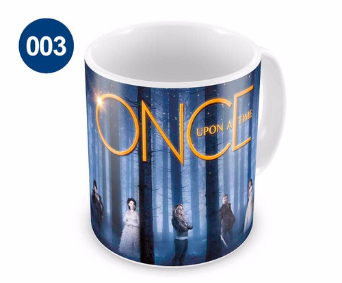 Caneca de Porcelana Once Upon A Time