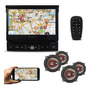 Toca Dvd Positron 7 Bluetooth Retratil 4 Falante Bravox 5