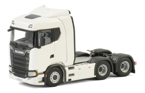 Miniatura Caminhão New Scania S730 - 2019 V8 Wsi = Arpra. Original