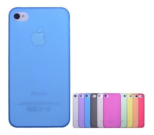 Capa I Phone 4,4s  + Película De Plástico +  Original