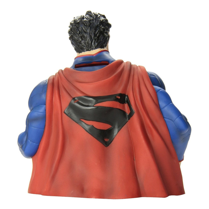 Cofre Busto Superman New 52 -  Bust Bank - Monogram