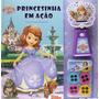 Livro Com Projetor Princesinha Sofia Princesinha Em Ação