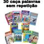 30 Caça Palavras Sem Repetição, revistas De 34 Páginas.