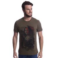 Camiseta Long Island Monalisa Verde Militar