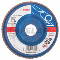 Flap Disc Blue Metal 4.1/2 # 60 - Bosch