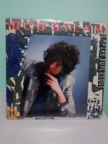 Lp Bob Dylan - Empire Burlesque - Lote T Original