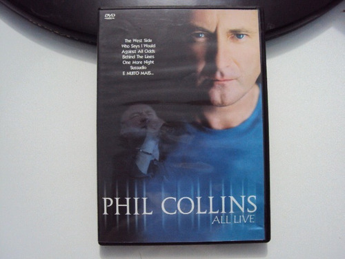Dvd - Phil Collins All Live E6b3 Original