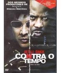 Contra O Tempo Jet Li- Dmx,  Dvd , Novo, Lacrado Original