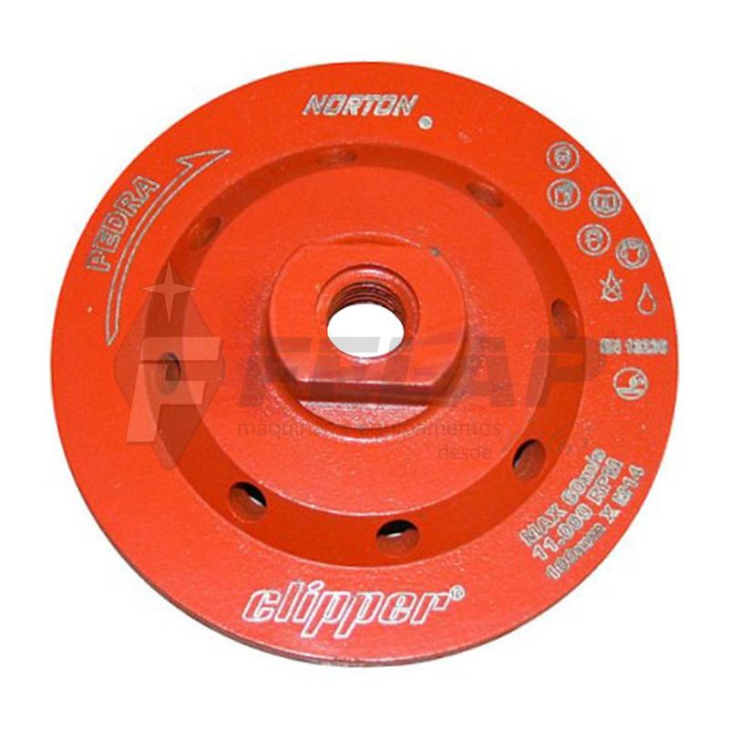 Disco Desbaste Norton Diamantado 100 mm x M14
