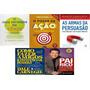 Kit 5 Livros Poder Ação Pai Rico Fazer Amigos Tenis