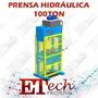Prensa Hidráulica 100ton C/ Proteção Nr 12 Projeto