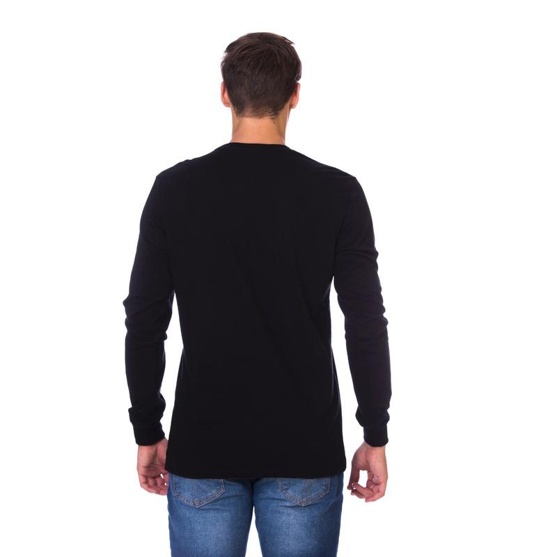 Camiseta Manga Longa AP Preta