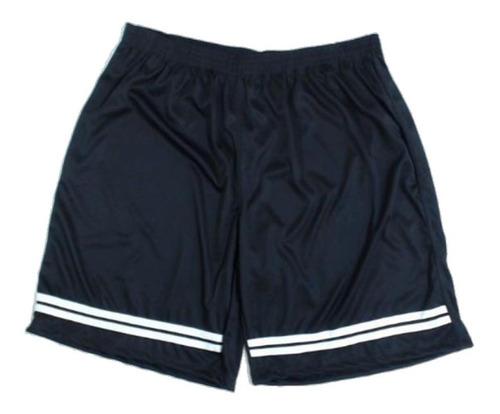 Calção Masculino Academia Futebol Lazer Plus Size 50 Ao 60 Cordão Interno Tamanho Grande Confortável Original