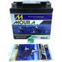 Bateria Moto Moura Gel Ma5d 5ah Original Honda Titan150/125