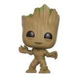 Groot Pop Funko #202 - Guardiões das Galáxias Vol 2 - Marvel