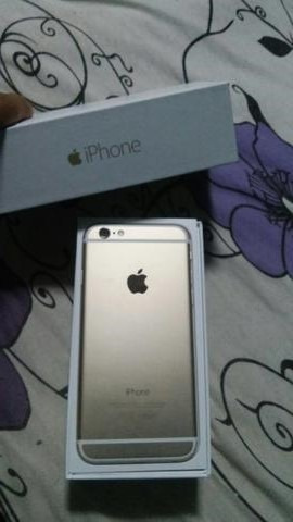 iPhone 6 64gb Dourado/gold Completo Original