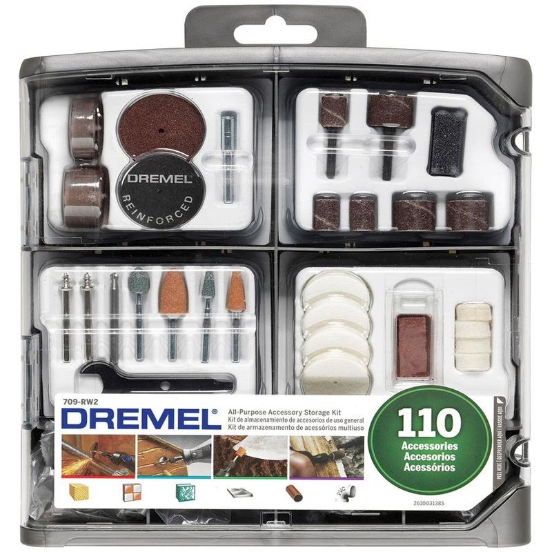 Kit Dremel 709 Uso Geral 110 peças Dremel Ref.709-RW2