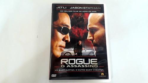 Dvd Rogue O Assassino - 4 Ou Mais Tít. 20% Desc. Original