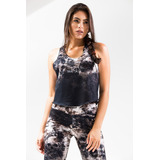 Regata Cropped Hoxteer Caveira Dark