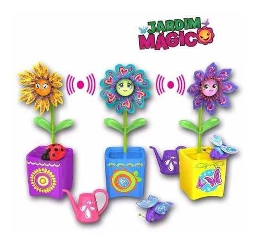Jardim Mágico Silverlit - Flores E Insetos Incríveis - Dtc Original