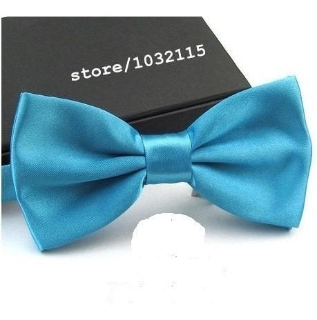 21 Gravatas Borboleta C/ Regulador, Infantil Azul Tifanny Original