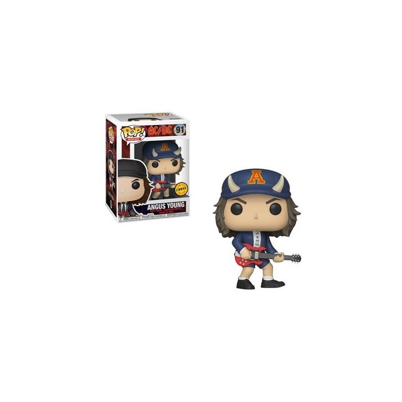 Angus Young Chase Edition Pop Funko #91 - AC DC Pop! Rocks