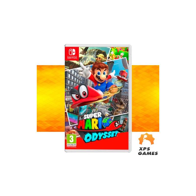 Jogo Mario Odyssey - Switch