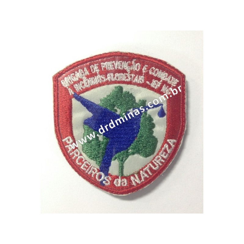 Patch / Distintivo Bordado IEF - II