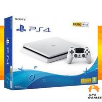Sony Playstation 4 Slim 500GB Branco + 10 Jogos p/ Download, c/ dois Controles