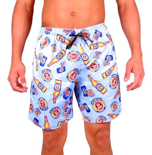 Bermuda Short Masculino Moda Ney Praia Summer Fashion Bebida Original
