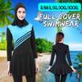 Mulheres Muçulmanos Islâmicos Swimwear Praia Maiô Capa Compl