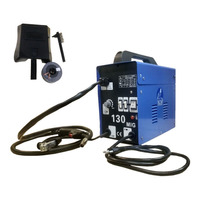 Maquina De Solda Mig 130 Nao Usa Gas 127volts + Arame+brinde
