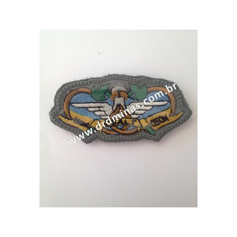 Distintivo Bordado CSALT- CBMMG