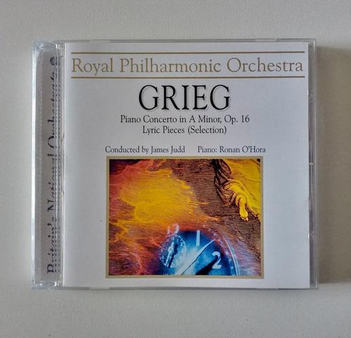 Grieg Cd Nac Usado Piano Concerto In A Minor Rpo Ronan O´hor Original