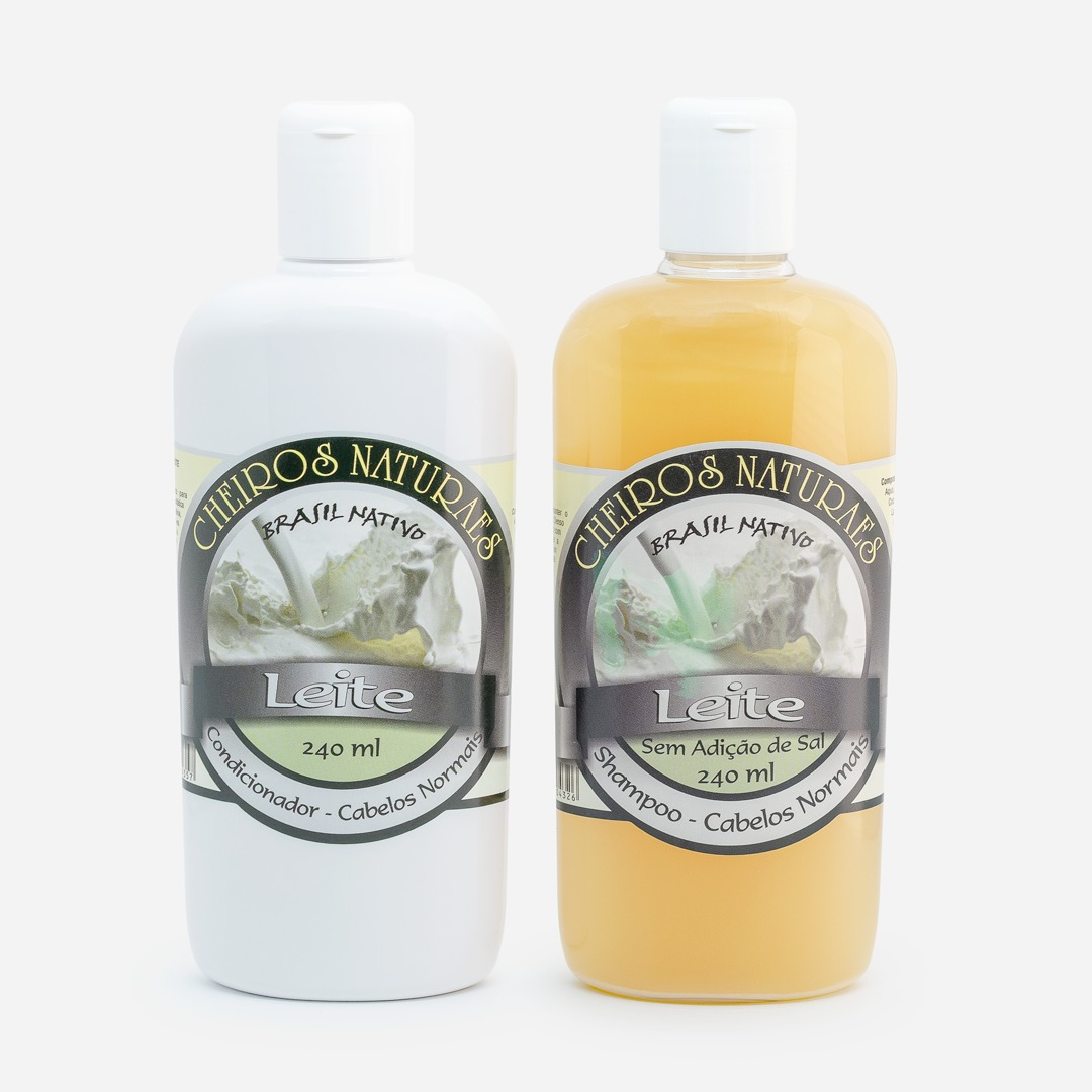 Kit Shampoo e Condicionador Leite 240ml