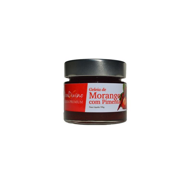 Geleia de Morango com Pimenta 190g  - Don Divino