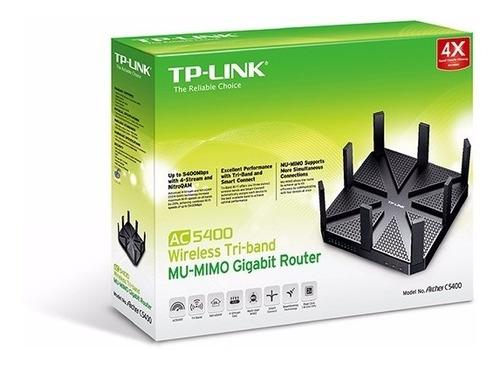 3349 W. Tp Link Archer C5400 Router Ac5400 Tri Band Gigabit Original