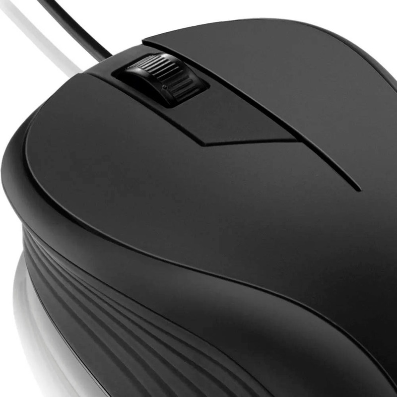 Mouse Preto 1200 DPI Multilaser  MO222