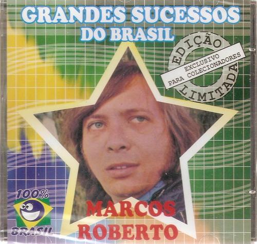 Cd Marcos Roberto Grandes Sucessos Do Brasil Original
