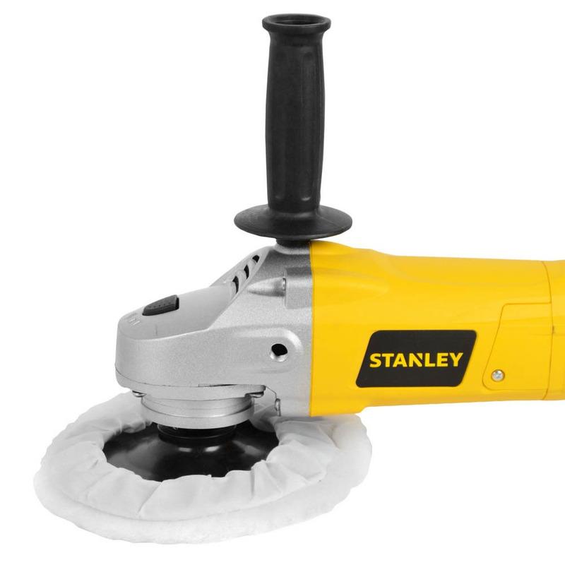 Politriz 7 Rolamentada 1300W Stanley - STGP1318K