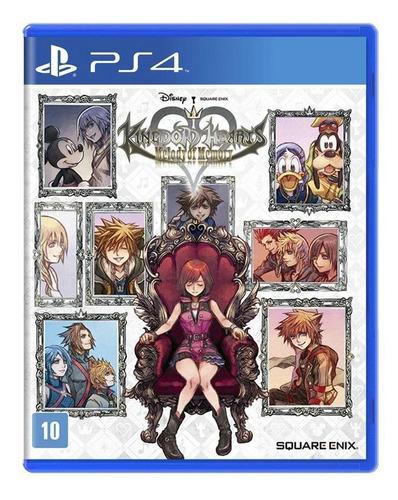 Kingdom Hearts Melody Of Memory Ps4 Playstation 4 Lacrado Original