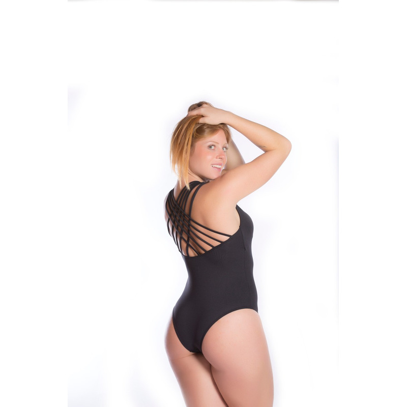 Body Tiras Costa Light Preto
