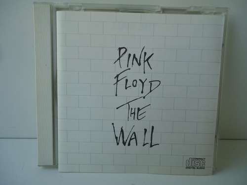 Cd Pink Floyd The Wall Duplo - By Trekus Vintage Original