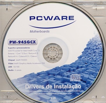 945GCX PCWARE PW SOM DRIVER BAIXAR DE